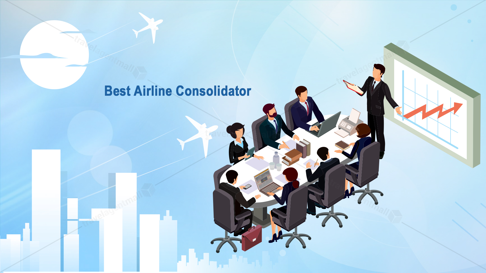 Why do travel agents prefer TravelAgentMall over other airline consolidators?