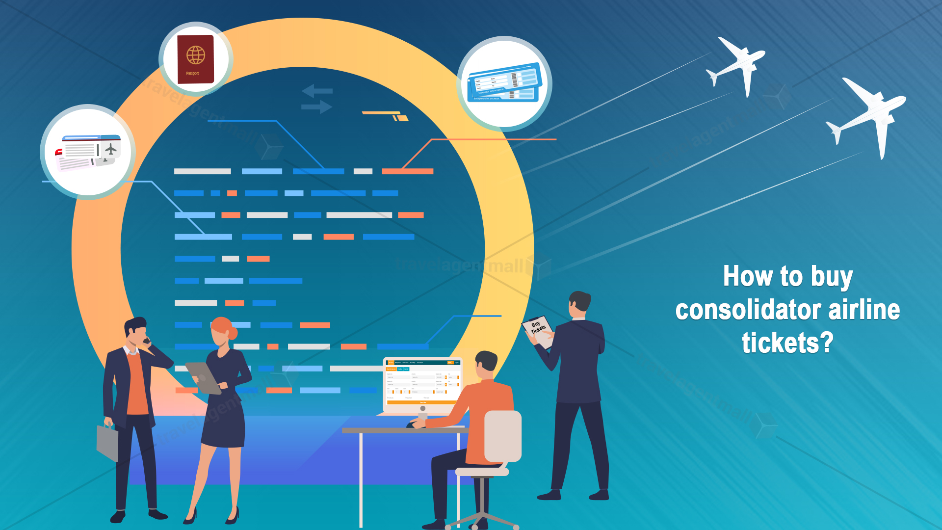 How to buy consolidator airline tickets?