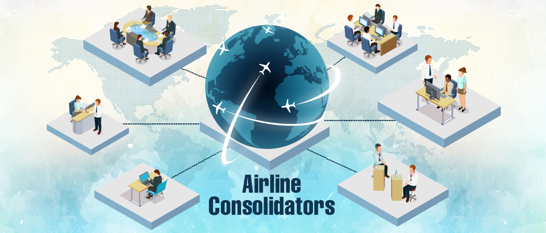 Why Travel Agents like to work with Airline Consolidators